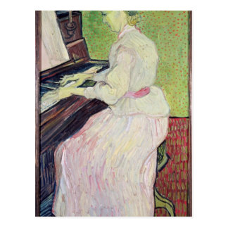 Marguerite Gachet at the Piano, 1890 Postcard