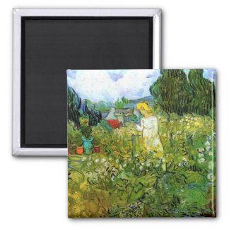 Marguerite Gachet in the Garden by van Gogh Magnet