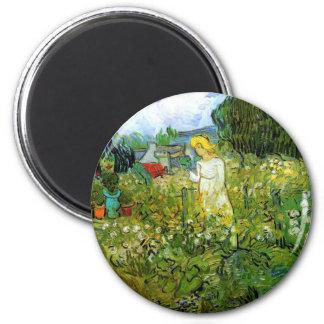 Marguerite Gachet in the Garden Fridge Magnet