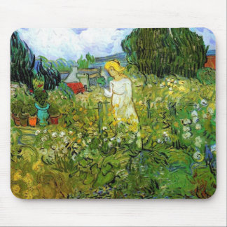 Marguerite Gachet in the Garden Mousepad