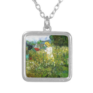 Marguerite Gachet in the Garden Silver Plated Necklace