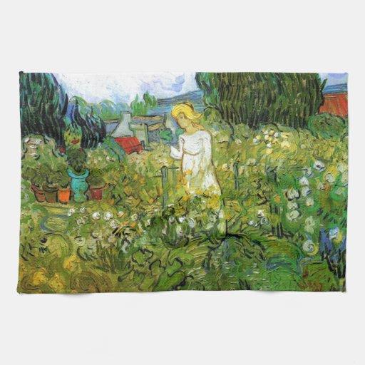Marguerite Gachet in the Garden Towels