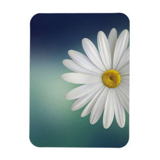 marguerite rectangular photo magnet