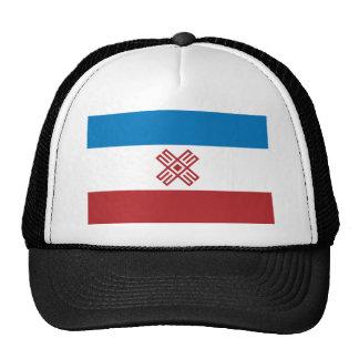 Mari El, Russia flag Hats