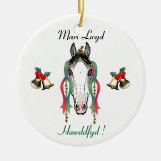 Mari Lwyd Ornament