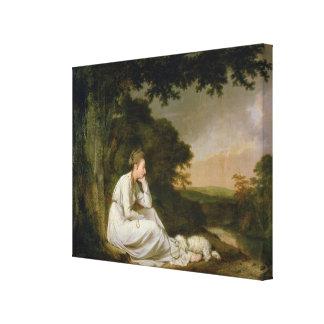 Maria, 'A Sentimental Journey' Canvas Print