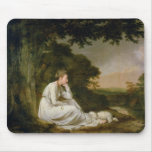 Maria, 'A Sentimental Journey' Mouse Pad