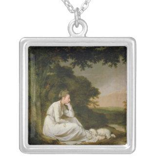 Maria, 'A Sentimental Journey' Square Pendant Necklace