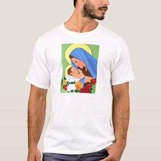 Maria and baby Jesus T-Shirt