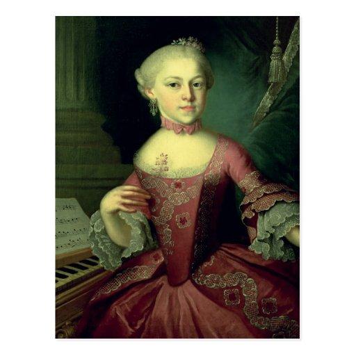 Maria-Anna Mozart, called 'Nannerl' Postcard