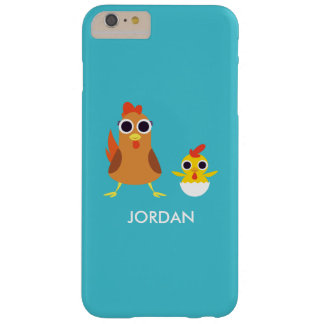 Maria & Bandit the Chickens Barely There iPhone 6 Plus Case