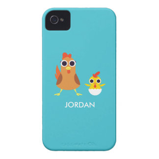 Maria & Bandit the Chickens Case-Mate iPhone 4 Cases