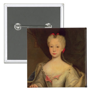 Maria Barbara de Braganza  Queen of Spain 15 Cm Square Badge