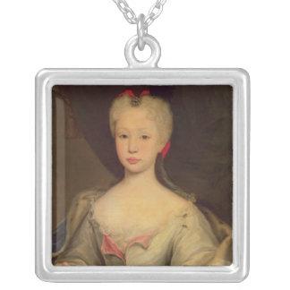 Maria Barbara de Braganza  Queen of Spain Silver Plated Necklace