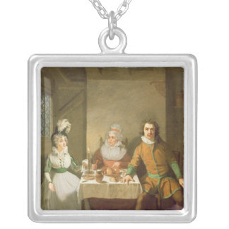 Maria Bland as Josephine Silver Plated Necklace