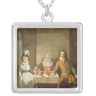 Maria Bland as Josephine Square Pendant Necklace