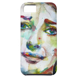 MARIA CALLAS - watercolor portrait.2 iPhone 5 Cases