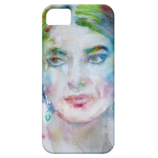 MARIA CALLAS - watercolor portrait iPhone 5 Cases