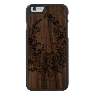 Maria Flowers Slim Walnut iPhone 6 Case Carved® Walnut iPhone 6 Case