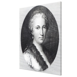 Maria Gaetana Agnesi Canvas Print