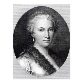Maria Gaetana Agnesi Postcard