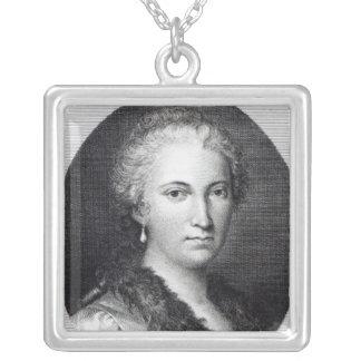 Maria Gaetana Agnesi Silver Plated Necklace