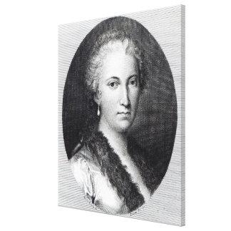 Maria Gaetana Agnesi Stretched Canvas Print