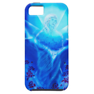 Maria glad Christmas Tough iPhone 5 Case