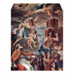 Maria Gloria With Archangel Gabriel And St. Eusebi Full Color Flyer