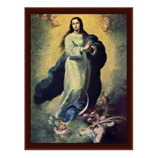 Maria ImmaculataBy Murillo Bartolomé Esteban Perez Postcard