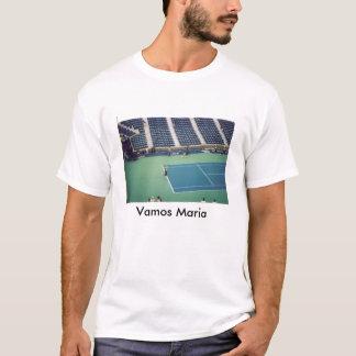 Maria Sharapova in Action T-Shirt