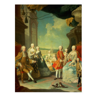 Maria Theresa and her Husband Postcard