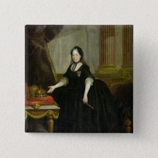 Maria Theresa  Empress of Austria 15 Cm Square Badge