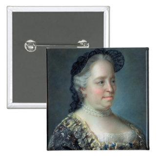 Maria Theresa, Empress of Austria, 1762 15 Cm Square Badge