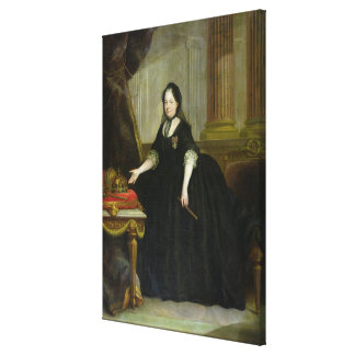 Maria Theresa  Empress of Austria Canvas Print