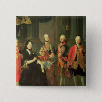 Maria Theresa of Austria  with four of her 15 Cm Square Badge