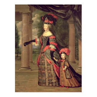 Maria Theresa wife of Louis XIV Post Cards