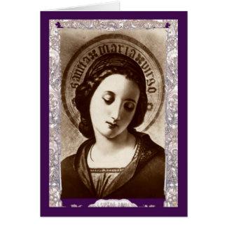 Maria Virgo Frameable Art Card