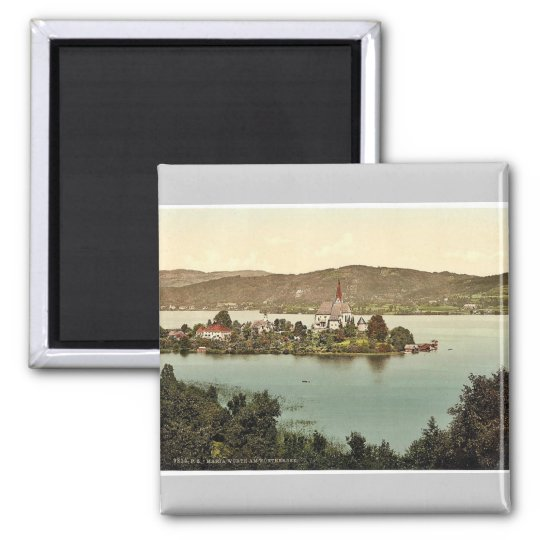 Maria-Wörth on Wörthersee, Carinthia, Au Square Magnet