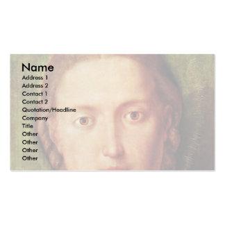 Maria With The Carnation By Albrecht Dürer Business Card
