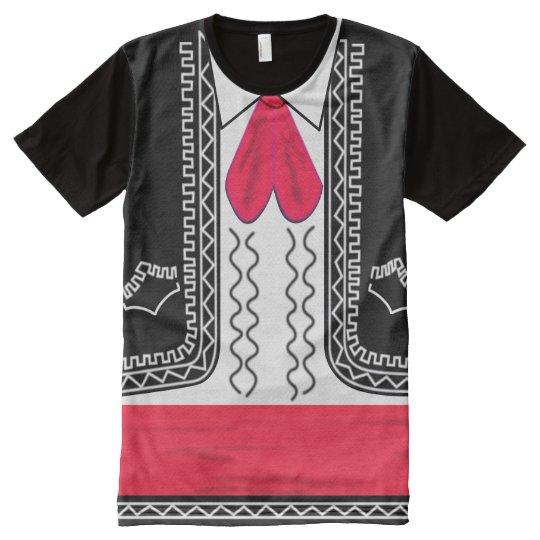 Mariachi Charro All-Over Print T-Shirt