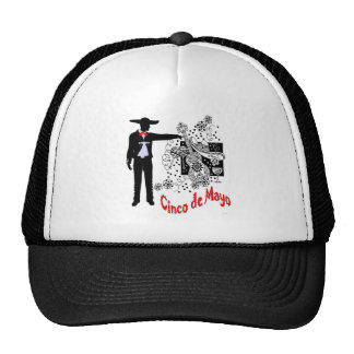 Mariachi-Cinco de Mayo Mesh Hats