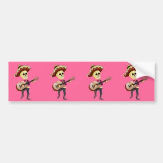 Mariachi Male Sugar Skeleton Bumper Stickers