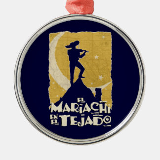 Mariachi on the Roof Christmas Ornament