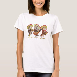 Mariachi Owl band T-Shirt