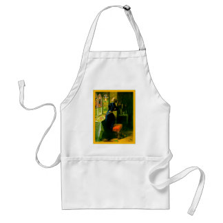 Mariana In The Moated Grange ~John Everett Millais Adult Apron