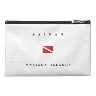 Mariana Islands Saipan Scuba Dive Flag Travel Accessories Bag