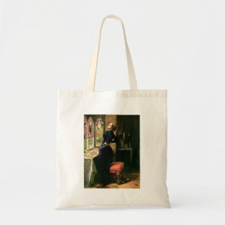 Mariana Woman with Stained Glass Budget Tote Bag
