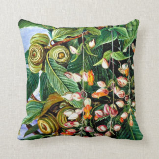 Marianne North: A Darjeeling Oak Throw Pillow