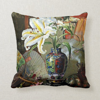 Marianne North - Japan Throw Pillow